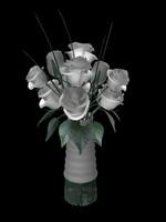 wedding flower 3d lwo