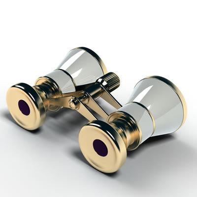 binocular 3d max