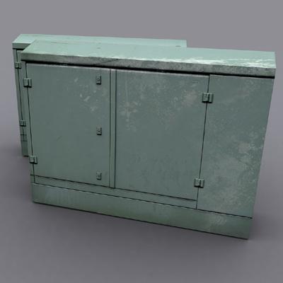 3d utility box hires