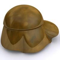 3d boeotian helmet model
