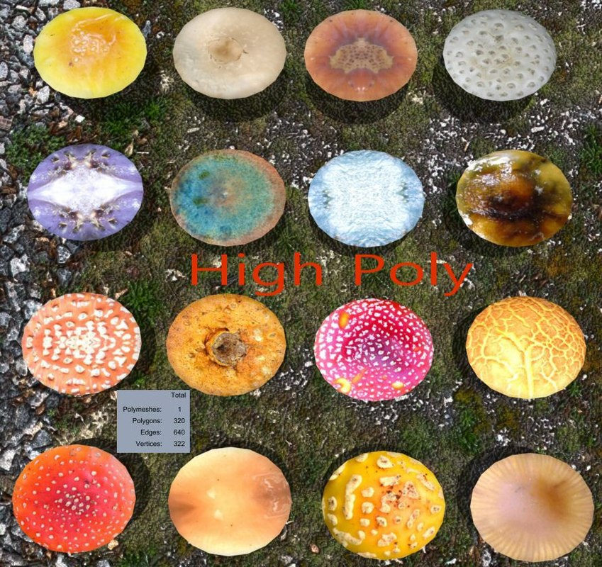 3ds max mushroom games