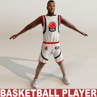 Basketball player static