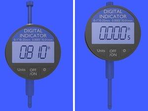 3d digital indicator