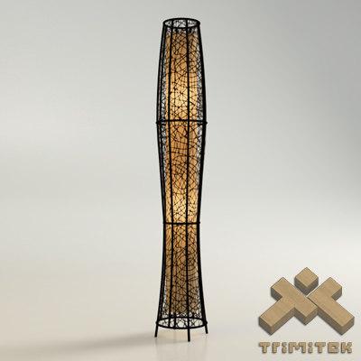 exotic mesh lamp - 3d model