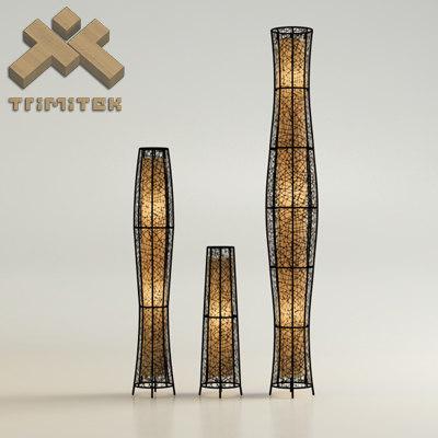 3dsmax exotic mesh lamps set