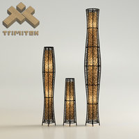 Exotic mesh lamps set