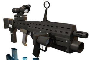 3ds future super capacitor gun