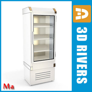 refrigerating freezer v1 04 3d fbx