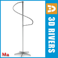 3d clothing rack v1 02 model