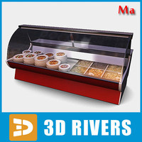 display freezer salads 01 3d ma