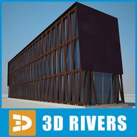 building house 13 3d obj