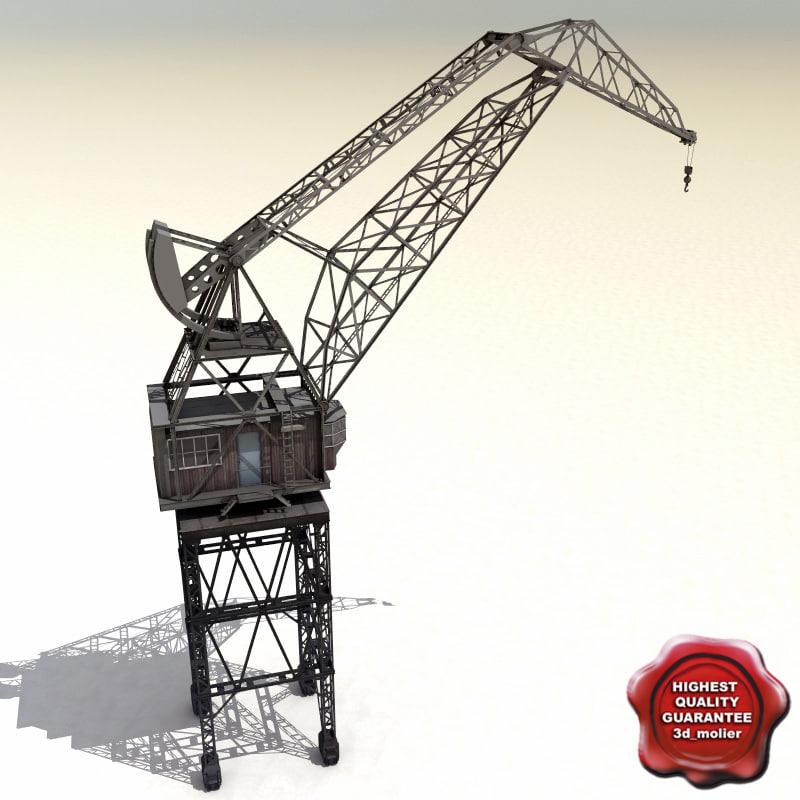 3ds max crane port