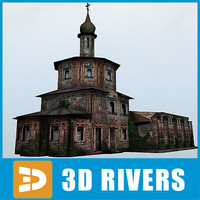 ruined orthodox church building max