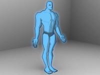 dr manhattan 3d model