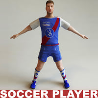 Football-player static