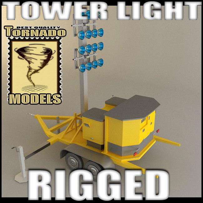 light tower 3d lwo