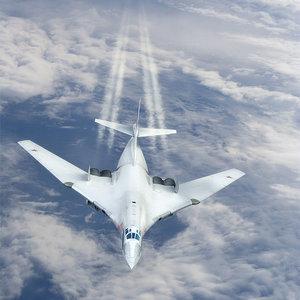 tu-160 bomber 3d ma