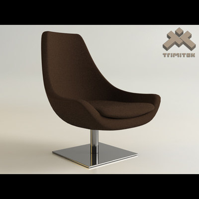 desiree ego chair 3d max