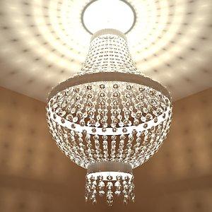 maya crystal chandelier lighting