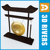 3d chinese gong