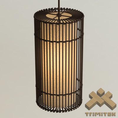 3d model kai o hanging lamp