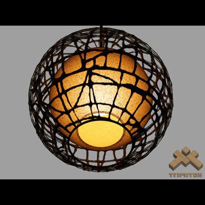3d c-u c-me lamp model