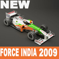 3d model of force india