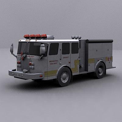 3d model ready truck