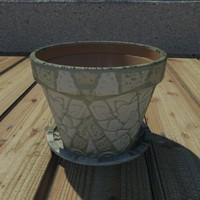glazed pot 3d max