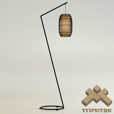 3d model kai z floor lamp