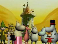3d family moomins model