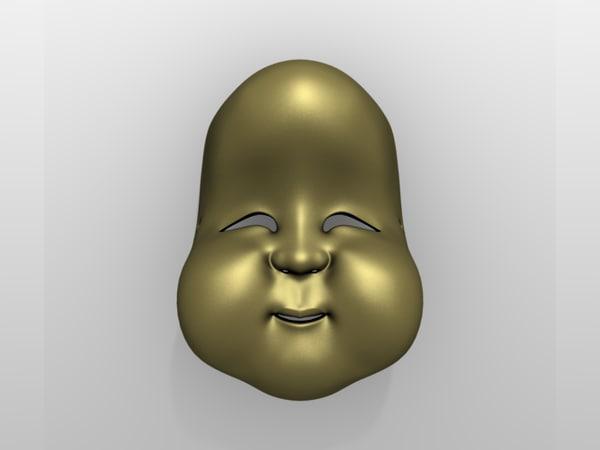 maya japanese mask okame