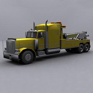 ready wrecker tow truck 3ds