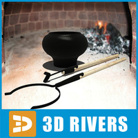Pot and oven fork by 3DRivers
