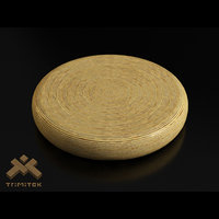 exotic round coffee table