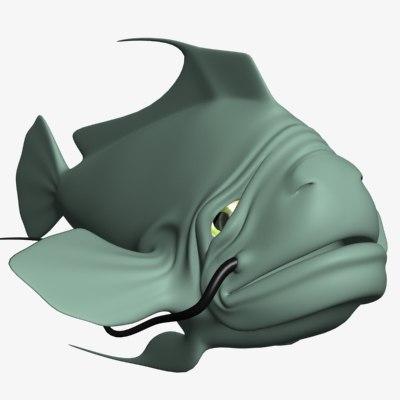 maya old fish