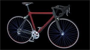 road bike 3d max