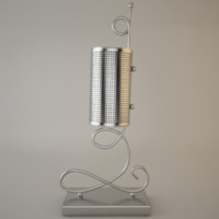 3ds max modern desk lamp