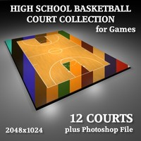 3ds school basketball courts