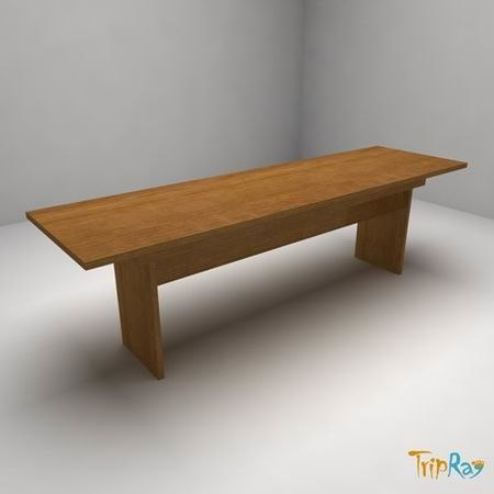 free office table 3d model