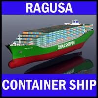CSCL Xiamen Mega Container Ship