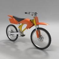 3d model bike xbike x