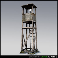 free watchtower games unreal 3d model