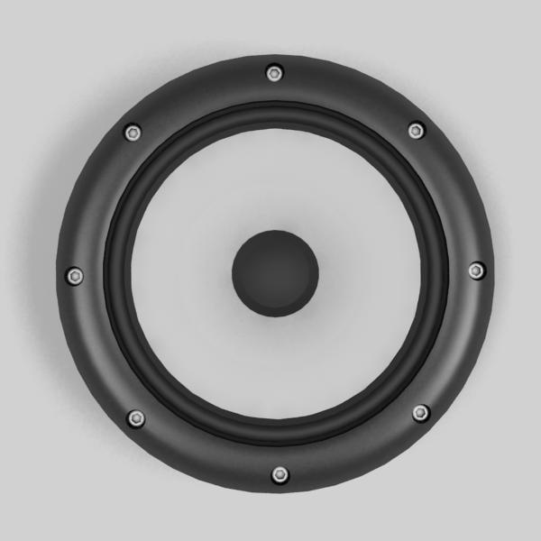 3d model speaker
