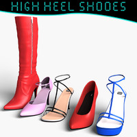 Female High Heel Shoes Pack