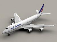 B 747-200 Air France