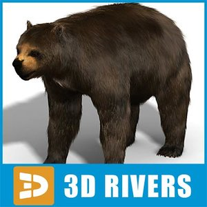 3dsmax giant bear arctodus simus