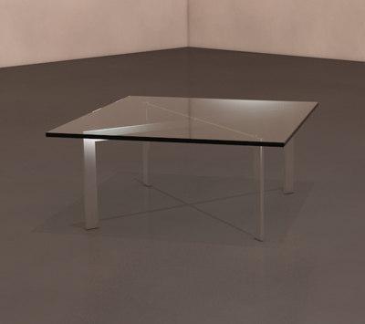 3d model barcelona table