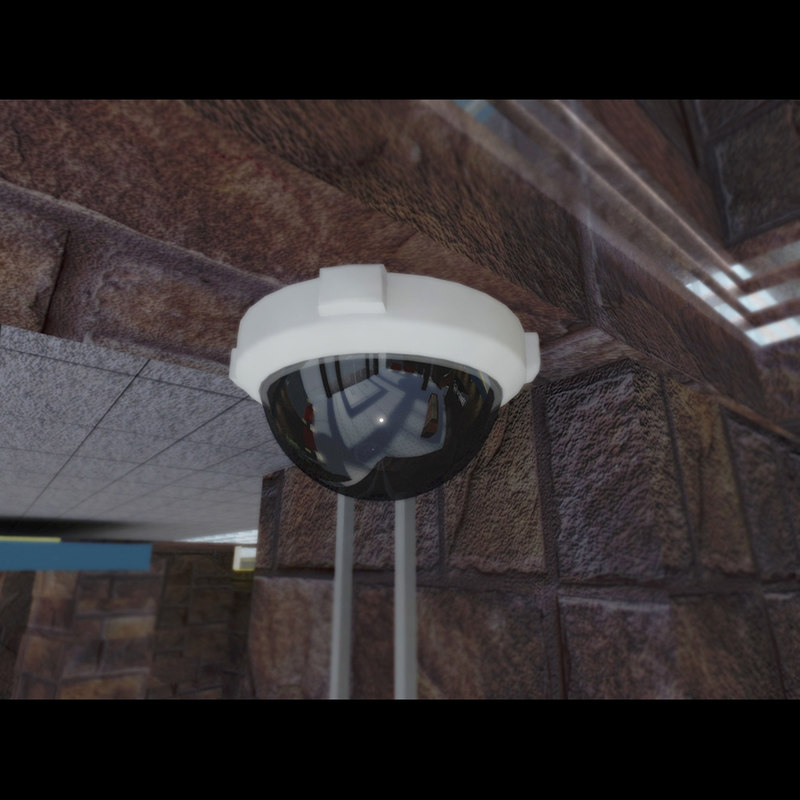 3d dome camera security