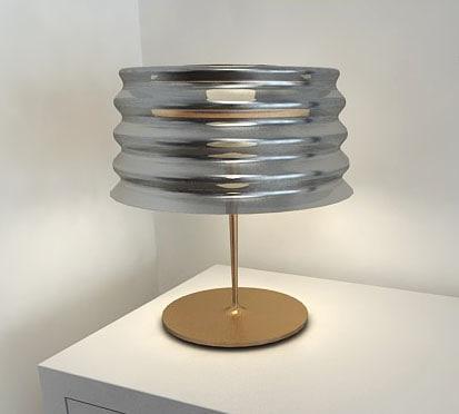 3d lamp wavy